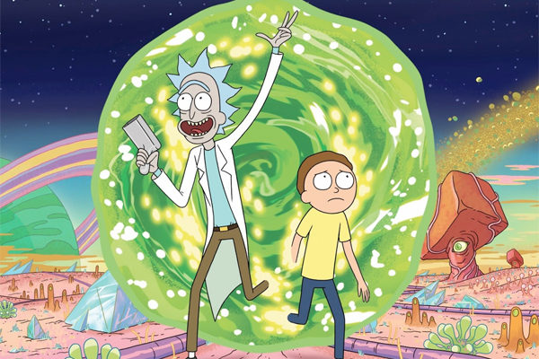 Serie TV Rick and Morty immagine di copertina