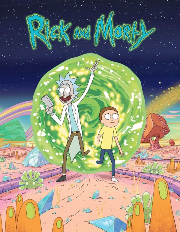Serie TV Rick and Morty immagine di copertina