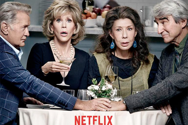 Serie TV Grace and Frankie immagine di copertina
