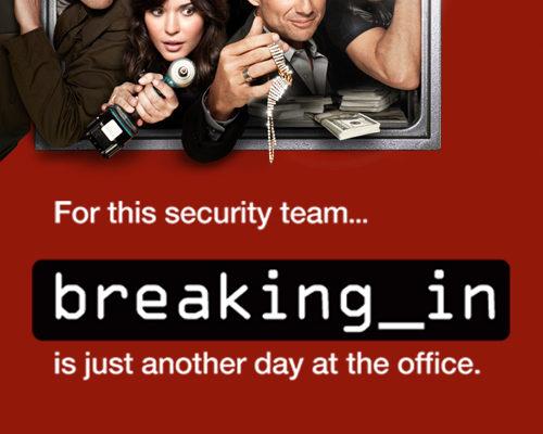 Serie TV Breaking In immagine di copertina