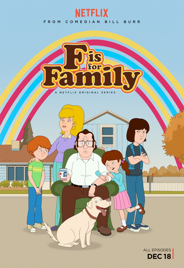 Serie TV F is for Family immagine di copertina