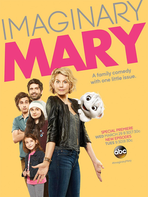 Serie TV Imaginary Mary immagine di copertina