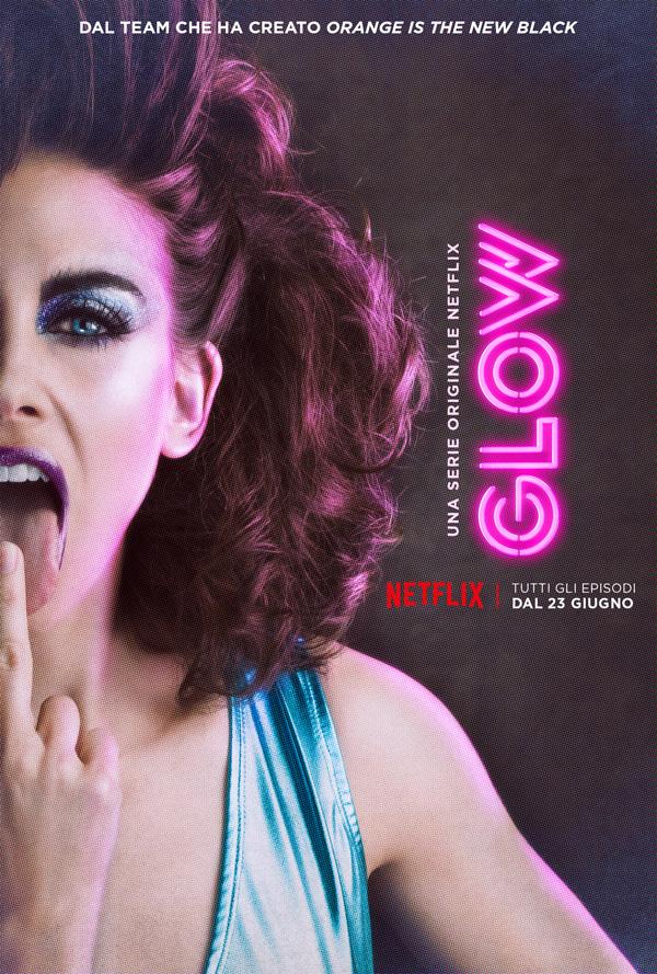 Serie TV GLOW immagine di copertina
