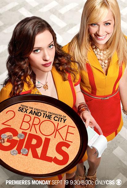 Serie TV 2 Broke Girls immagine di copertina