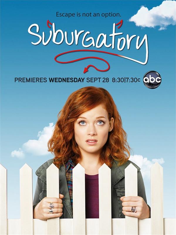 Serie TV Suburgatory immagine di copertina