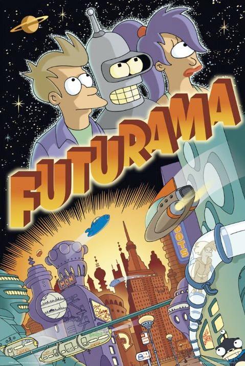 Serie TV Futurama immagine di copertina