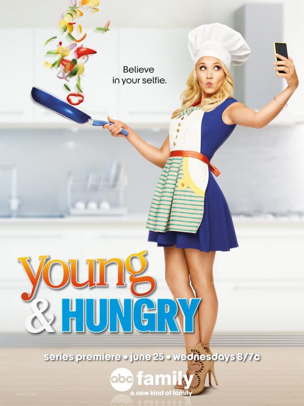 Serie TV Young & Hungry immagine di copertina