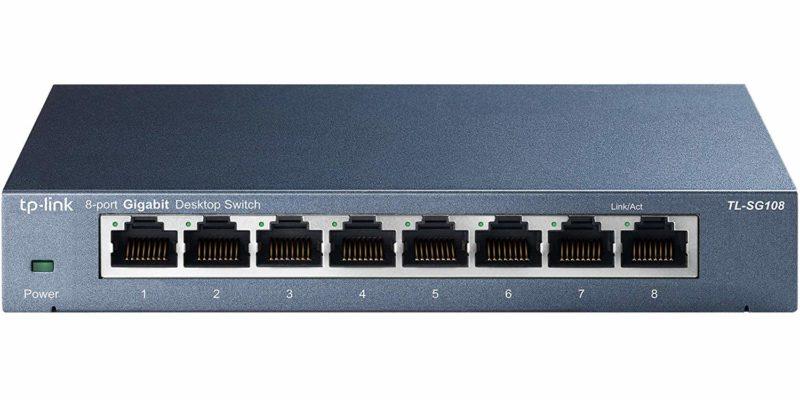 televisore TP-Link TL-SG108